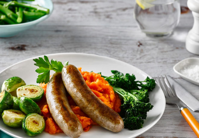 Cleaver's paleo beef sausages