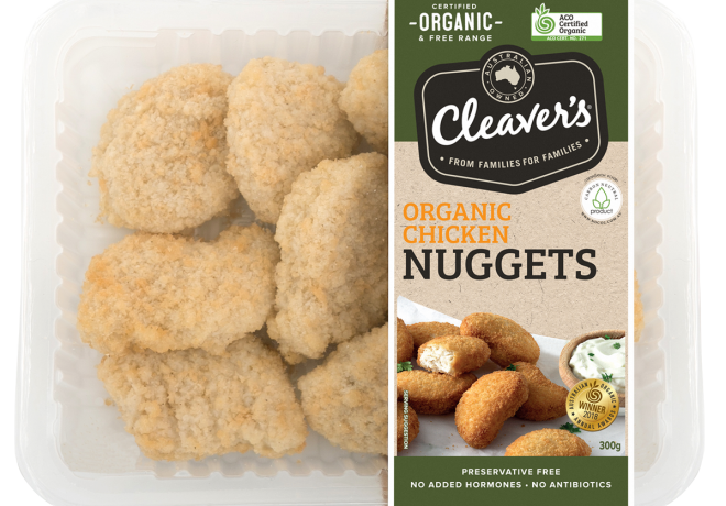 Cleaver's Organic Chicken Nuggets