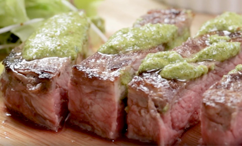 Cleaver's organic beef scotch fillet